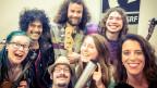 Die aufgeweckte Truppe Freelancer aus Winterthur zu Besuch bei Rahel Giger im World Music Special mit ihrem Debut-Album «Embryo».