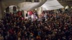 Ein Highlight für jeden World-Music-Fan: ein Strassenmusikfestival. Hier eine Momentaufnahme beim Konzert von Forró Miór am Strassenmusikfestival Buskers 2017 in Bern.