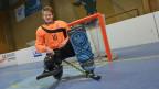 Marc Blöchlinger ist Rollhockey-Goalie