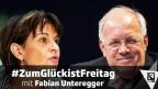 Die zurück tretenden Bundesräte Doris Leuthard und Johann Schneider-Ammann