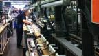 Produktionshalle von Baur Industrietextilien in Wuppertal.