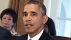 US-Präsident Barack Obama während einer Kabinettssitzung im Weissen Haus in Washington, DC am 30. September 2013.