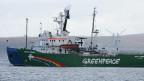 Der Eisbrecher «Arctic Sunrise» der Umweltorganisation.
