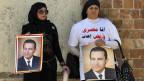 Anhängerinnen des gestürzten Präsidenten Hosni Mubarak