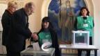 3.5 Millionen Georgier wählen einen neuen Präsidenten.