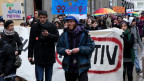 Demonstration in Zagreb gegen die Ehe-Initiative der katholischen Kirche.