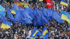 Die proeuropäische Opposition in der Ukraine fordert den Rücktritt von Präsident Janukowitsch.