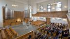 Die reformierten Kirchen verlieren Mitglieder. Gottesdienst in der Kirche von Thalwil (ZH).