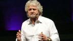 Der ehemalige Komiker Beppe Grillo lässt Andersdenkende in seiner Partei Cinque Stelle nicht zu.