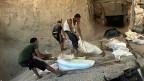 Tunnel-Wirtschaft im Gazastreifen - oft die einzige Möglichkeit, Waren einzuführen.