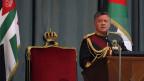 König Abdullah II. spricht zum jordanischen Parlament