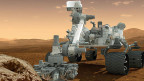 Der Mars-Roboter Curiosity.