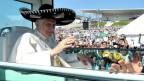Papst Benedikt XVI. zu Besuch in Mexico (2012)
