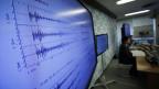 Monitor in einer japanischen Wetterbeobachtungsstation: Die Ausschläge deuten auf ein Erdbeben - ausgelöst durch den nordkoreanischen Atomtest.