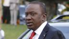 Präsidentschaftskandidat Uhuru Kenyatta.