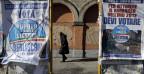Wahlkampf in Italien