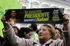 56,7 Prozent der Stimmen für Rafael Correa, er wird vier weitere Jahre als Equadors Präsident amtieren.