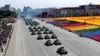 Chinesische Militärparade in Peking zum 60. Jahrestag der Volksrepublik.
