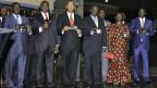 Kenias sechs Präsidentschaftskandidaten.