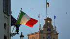 Blick auf den Präsidentenpalast in Rom.