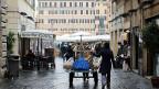 «Keine Regierung, keine Sicherheit - und Europa hat Angst vor uns», sagt eine Passantin in den Strassen von Rom.