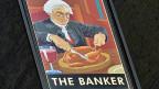 Ein Pub-Schild im Londoner Finanzdistrikt. Nach dem Willen der EU müssen sich Banker müssen künftig mit kleineren Boni zufrieden geben.