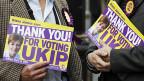 EU-kritische Partei UKIP überholt die britischen Konervativen.
