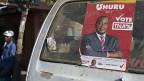 Wahlwerbung für Uhuru Kenyatta in Nairobi.