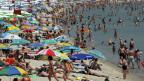 Badevergnügen am Schwarzen Meer
