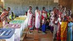 Wahllokal bei Magadi, einer Stadt etwa 80 Kilometer südlich von Nairobi.