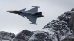 Der schwedische Kampfjet Grippen