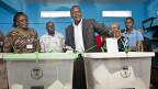 Uhuru Kenyatta, aussichtsreicher Kandidat für das Präsidentenamt in Kenia