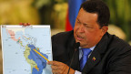 Der venezolanische Präsident Hugo Chavez im August 2012.