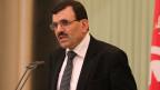 Tunesiens Premier Ali Larayed während einer Pressekonferenz am 8. März 2013.