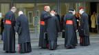 Am Dienstag werden sich alle Kardinäle in der Sixtinischen Kappelle versammeln.
