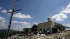 Die Kirche von Iqrit, einem arabischen Dorf im Norden Israels, dessen BewohnerInnen 1948 verjagt wurden.