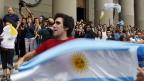 Die Bevölkerung von Buenos Aires feiert «ihren» Papst Franziskus.