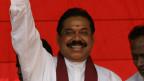 Sri Lankas Präsident Mahinda Rajapaks.