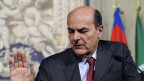 «Kronfavorit» Bersani spricht zu den Medien am 21.3.2013 in Rom.