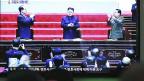 Kim Jong Uns Auftritt am nordkoreanischen Fernsehen