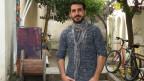 Hassan Atay, afghanischer Flüchtling, arbeitet auf Lesbos als Dolmetscher.