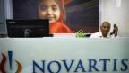 Niederlassung der Novartis in Indien