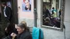 Beim Wahlkampf im Wallis