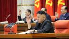 Der nordkoreanische Führer Kim Jong Un spart derzeit nicht mit Drohgebärden.