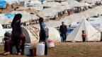 Ein Flüchtlingslager in der syrischen Nordprovinz Idlib.