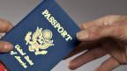Automatischer Informationsaustausch mit der EU wie mit der USA? Reisepass der Vereinigten Staaten.
