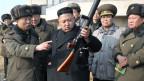 Nordkoreas Präsident Kim Jong-un spielt mit dem Feuer.