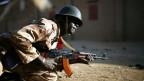 Weltpolitik ist schwieriger geworden. Ein Soldat in Gao, Mali am 23. März 2013.