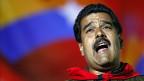 Nicolas Maduro, der neue venezolanische Präsident - unerwartet knapp ist das Wahlergebnis ausgefallen.