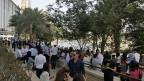 Bis nach Dubai war das Erdbeben zu spüren - und wurden Leute evakuiert.
